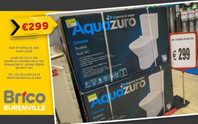 Petit prix sur le WC Aquazuro Livenza duoblock*