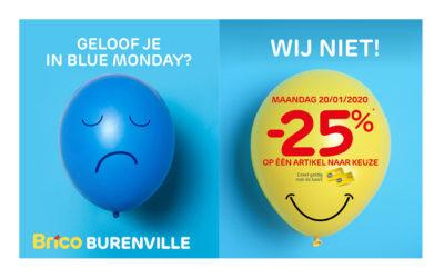 Actie Blue Monday