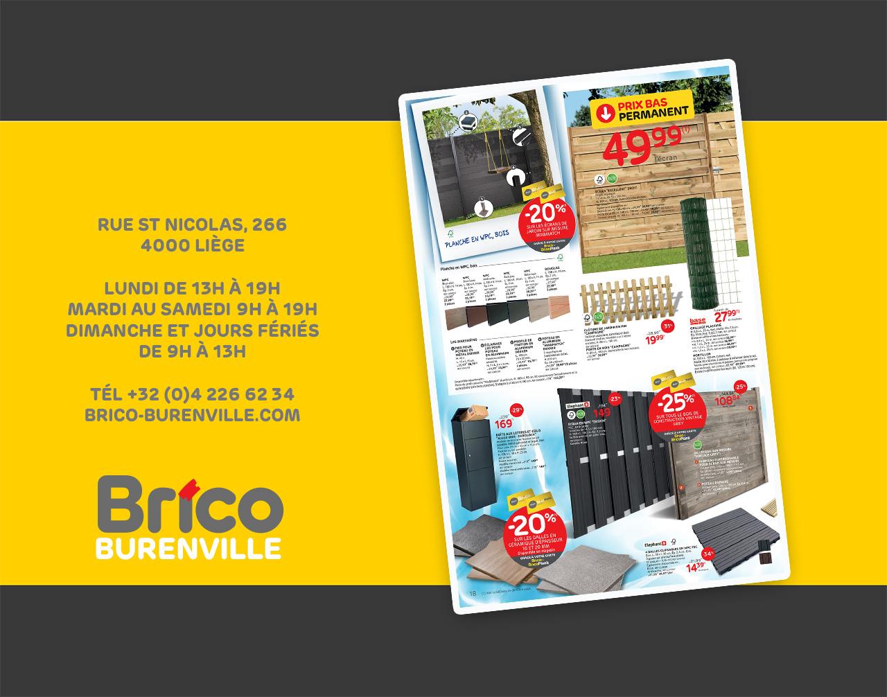 """Profitez de nos promos grâce à votre carte """"Mon Brico""""."""