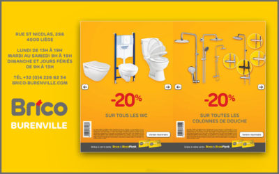 Bons -20%* sur tous les WC et toutes les colonnes de douche