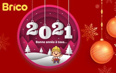Meilleurs voeux pour cette nouvelle année 2021