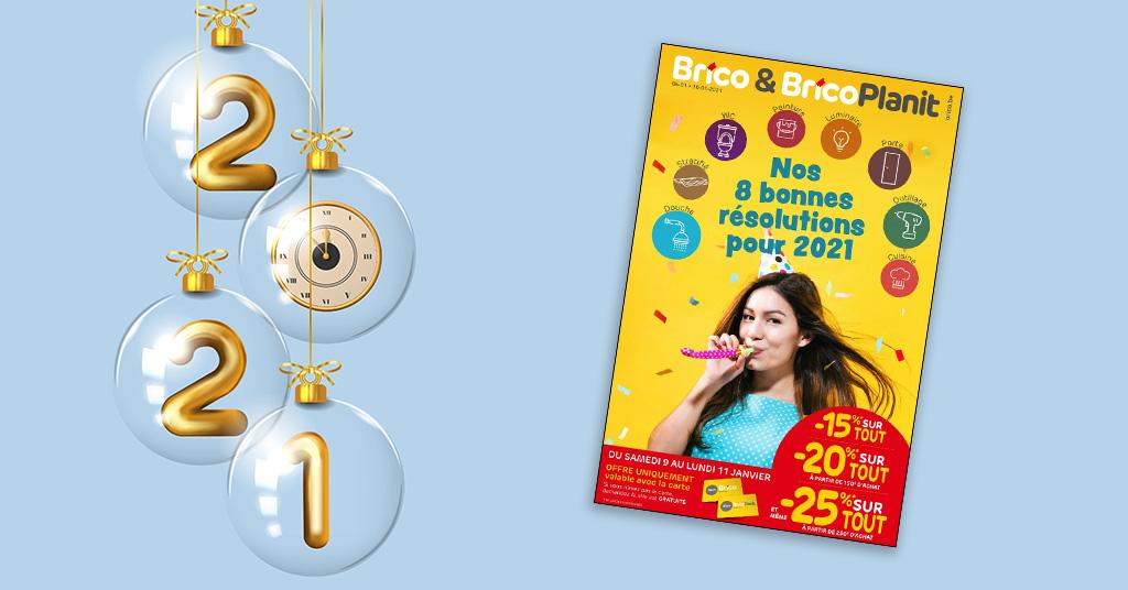 Nouveau folder valable du 6 au 30 janvier 2021