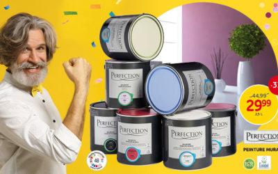 Profitez de notre promotion* sur la peinture murale et pour plafond