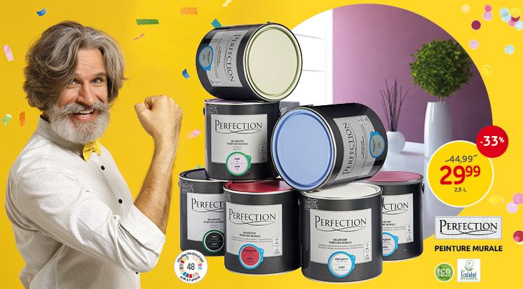 Une nouvelle couche de peinture sur vos murs & plafonds Découvrez notre offre en peinture murale et pour plafond.